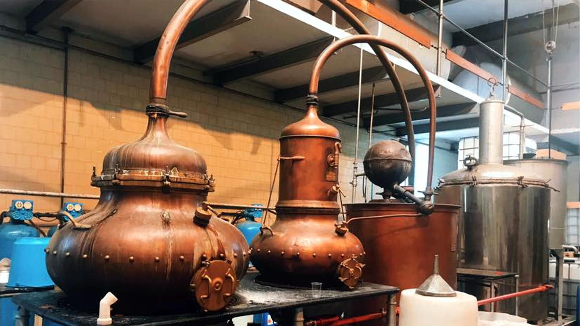 Balea, distillé dans l'un des plus vieux alambic d'Europe.